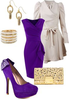 """Amethyst"" by danielle-whitlow ❤ liked on Polyvore"