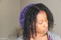 Protective Style Your Natural Hair With a Snood
