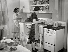 1942 Modern Kitchen, New Bedford MA