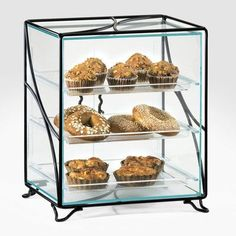 Cal-Mil Display Case with Wire Frame