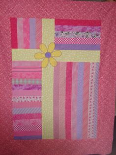 Quilt top for Project Linus