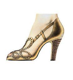 La postérité retiendra qu'il chaussa des femmes d'exception. Pour son couronnement en 1953, Elizabeth II, prudente, consciente qu'une chute à la Mylène Farmer, mettrait l'Empire Britannique en péril, s'adressera à Roger Vivier. Il lui confectionna ses souliers du couronnement « A Princess to be a Queen », une sandale en chevreau or brodés de rubis assortis à sa couronne. So chic.