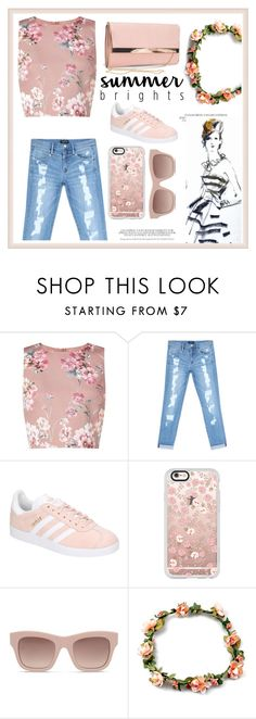 """""""A Look To Remember 2"""" by sallyqueen ❤ liked on Polyvore featuring Miss Selfridge, Bebe, adidas, Casetify, STELLA McCARTNEY and New Look"""