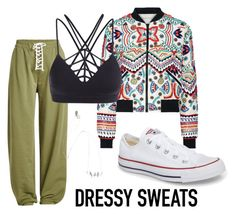 """""""Untitled #262"""" by mirun ❤ liked on Polyvore featuring Puma, Alice + Olivia and Converse"""