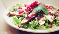 Peer granaatappel salade