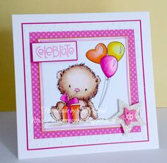 Handmade by Little Megs Cards using digi image from The Digistamp Boutique