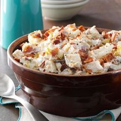 Be ready for requests for these recipes! Try crowd-pleasing potato, pasta, vegetable, taco and fruit salads that serve 12 or more for your next potluck.