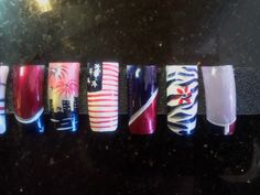 Nails: More 4th of July Nail Designs by Jesse Malibu Nails