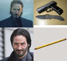 People who watched the John Wick series will get it.
