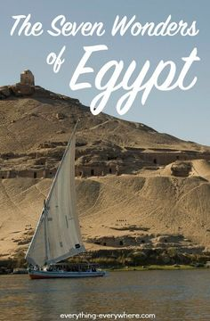 7 of the most impressive sights in Egypt that shouldn't be missed--from the Nile to the Pyramids of Giza and beyond. Egypt Travel, Africa Travel, Places To Travel, Places To See, Travel Stuff, Travel Around The World, Around The Worlds, Visit Egypt, Pyramids Of Giza