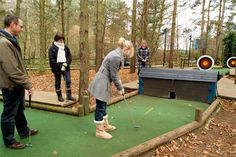 Being a rather competitive family the Adventure Golf at Center Parcs Sherwood Forest would be a hit! #CPFamilyBreaks