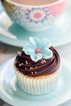 Goloso #cupcake al cioccolato.