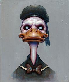 Zombie donald duck?