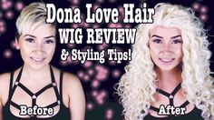 Dona Love Hair: Wig Review & Styling Tips! | A Poisoned Production - YouTube