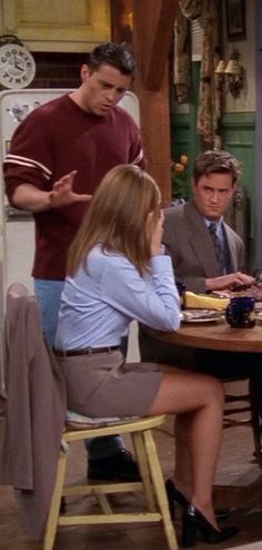Jennifer Aniston as Rachel Green on Friends
