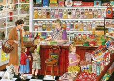 Best of British - The Sweet Shop | timeless British images o… | Flickr