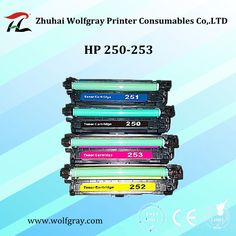 Compatible for HP 250A-253A toner cartridge,less money,better quality.