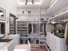 Closets minimalistas por Giovani Design Studio