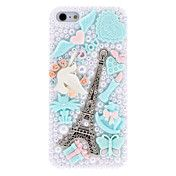 Special Design Silver Eiffel Tower Pattern wi... – USD $ 7.99