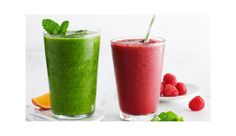 Yum! Post-workout smoothies
