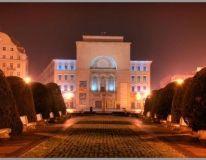 Teatrul national Mihai Eminescu Timisoara Romania, Great Places, Mansions, House Styles, Home Decor, Decoration Home, Manor Houses, Room Decor, Villas