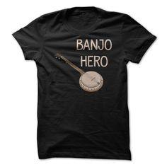 (New Tshirt Great) Banjo Hero T Shirt [Tshirt Facebook] Hoodies, Funny Tee Shirts