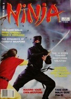 1984 NINJA MAGAZINE STEPHEN HAYES BLACK BELT KARATE KUNG FU MARTIAL ARTS #5