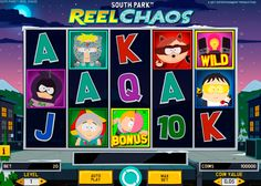 South Park: Reel Chaos is a 5-reel, 3-row, 20-line video slot made by NetEnt. It has three special symbols, bonus game and several prize options. Design of this game is based on a popular cartoon, so this online  slot is the real gift for the fans of Kenny, Cartman, Kyle, Stan and others characters of this show.