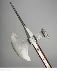 Venetian made Poll-axe c.1530 from the Wallace Collection