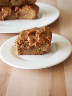 Biscoff Blondies with Biscoff Icing
