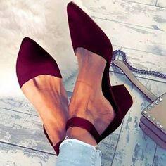 Women's Sandals Stiletto Heel Fabric Others Pumps, veryvoga Chunky Heels Closed Toe, Chunky Heel Pumps, Pumps Heels, Stiletto Heels, Fashion Models, Fashion Shoes, Women's Fashion, Womens Golf Shoes, Shoes Women