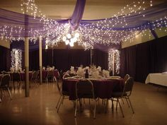 wedding ceiling decorations tulle