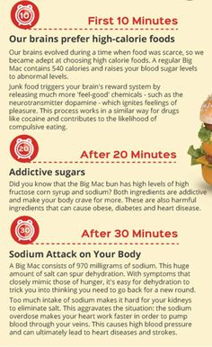 What Eating A Big Mac Does To Your Body - Big Mac Nutrition Facts
