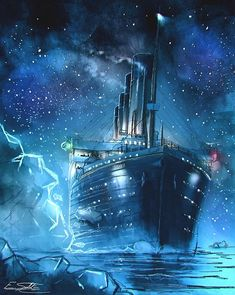 Search 'Titanic' on DeviantArt - Discover The Largest Online Art Gallery and Community Rms Titanic, Titanic Art, Titanic Sinking, Titanic Movie, Titanic Wreck, Titanic Drawing, Titanic Behind The Scenes, Boat Wallpaper, Shipwreck