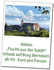 Preise Urlaub Burg Bernstein Hotel Burgenland