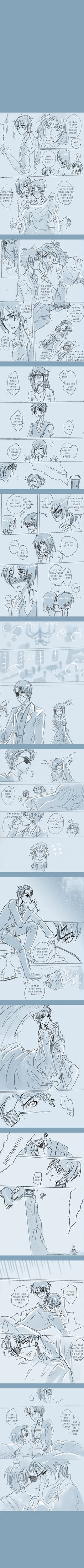 ENG DRAFT: Pirate!Levi x Mermaid!Eren part17 by illuscarymono.deviantart.com on @DeviantArt