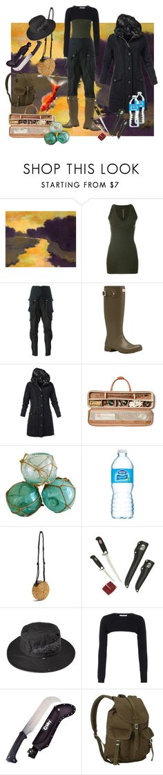 """""""toxic river"""" by autumnsunshine027 ❤ liked on Polyvore featuring Rick Owens Lilies, Faith Connexion, Hunter, Ghurka, WAIWAI, Valentino, Yoki and Herschel Supply Co."""