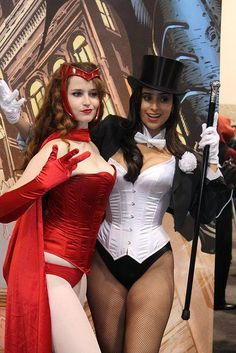 The Other Side blog: Zatanna: Cosplay time again!