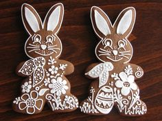 klikni pro další 4/166 Christmas Sugar Cookies, Easter Cookies, Gingerbread Cookies, Fancy Cookies, Cupcake Cookies, Cupcakes, Easter Bilby, Spring Cake, Cookie Designs