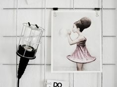 Copycat this : DIY mesh board - French By Design