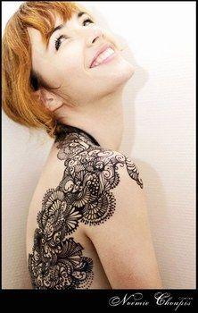 ☆ Noémie Choupis - Tatouages éphémères ☆