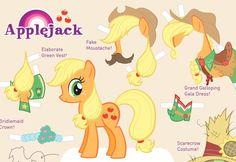 Applejack My Little Pony Friendship Is Magic Cutout