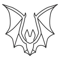 Gothic Gala Tiny Bat Design Uth7037 From Urbanthreads Outline