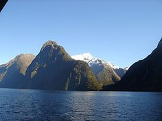 Just saw Milford Sound on a re-run of Biggest Loser.  Now I wanna go there.