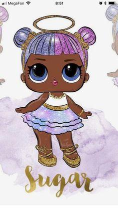 Para set de jardin Barbie Party, Doll Party, Lol Doll Cake, Chibi Kawaii, Kids Makeup, Lol Dolls, Cute Images, Big Eyes, Little Pony