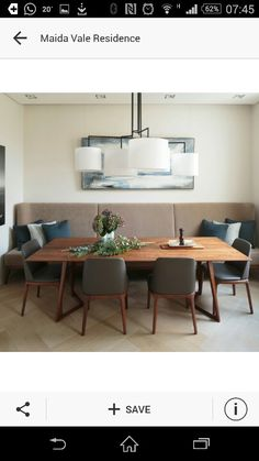 Sala jantar sofá