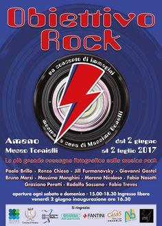 #informagiovani #mostre #prossimamente #giugno17 Museo Tornielli - Ameno (Novara)- Lago d'Orta 2 giugno | 2 luglio 2017 300 scatti sul ROCK (ingresso gratuito)