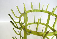 Vintage French Wine Bottle Drying Rack by Vintagefrenchlinens, $425.00