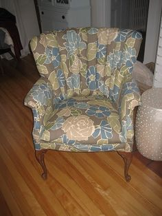 Love this chair - and love that the indoor outdoor fabric makes it worry free.