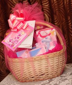 Baby Gift Baskets   Hampers2you: Baby Gift Baskets for Newborn Girl
